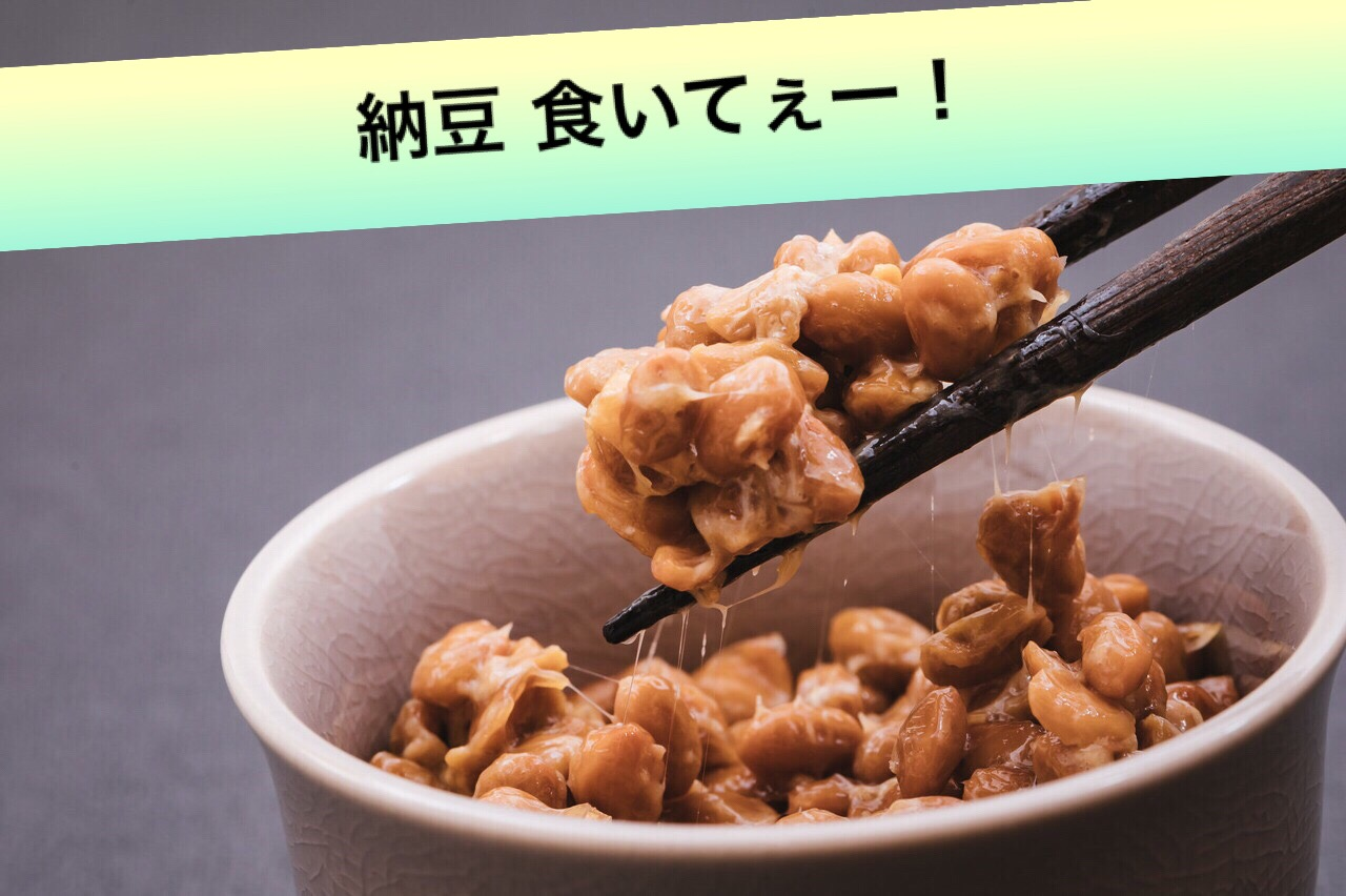 納豆食いてえいー!